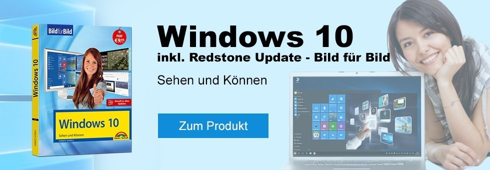 Windows 10 Buch inkl. Redstone Update