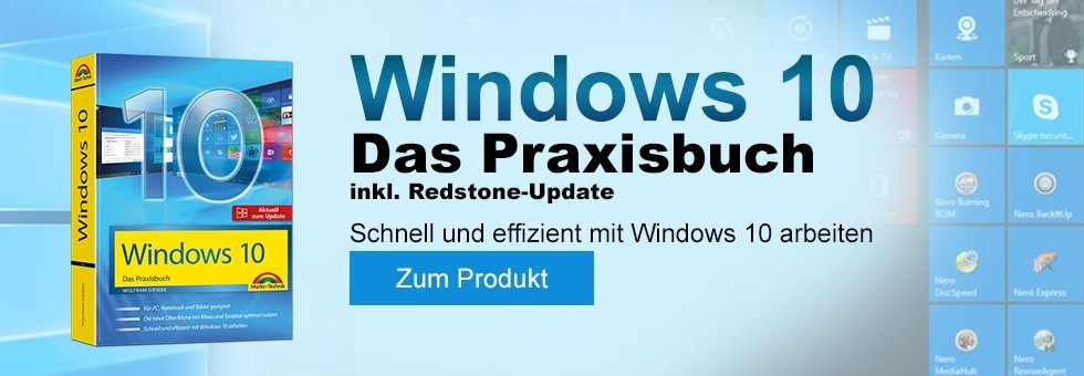 Windows 10 Praxisbuch inkl Update